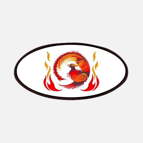 PHOENIX RISING FROM FLAMES Patches