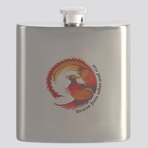 REVIVE FROM ASHES AND RISE Flask