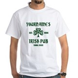 St patricks day Mens Classic White T-Shirts