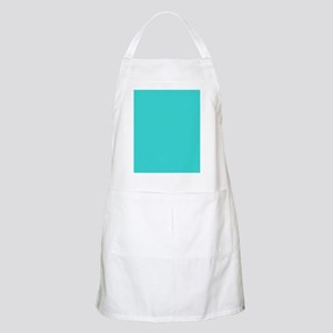 modern abstract teal Apron