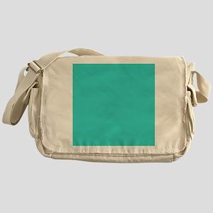 modern abstract teal Messenger Bag