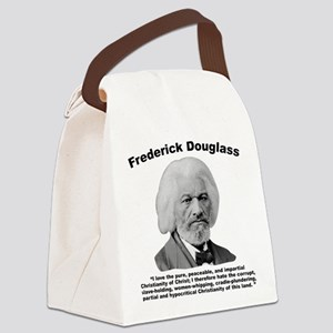 Douglass: Christianity Canvas Lunch Bag