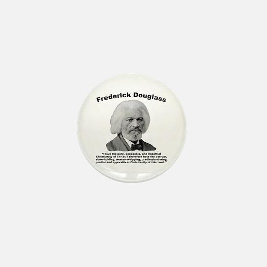 Douglass: Christianity Mini Button