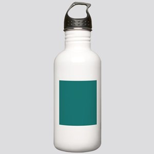solid color teal Stainless Water Bottle 1.0L