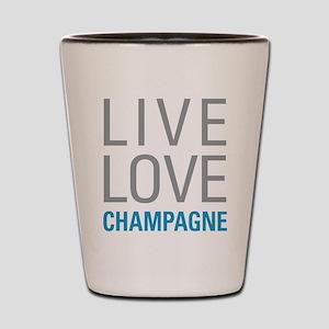 Champagne Shot Glass