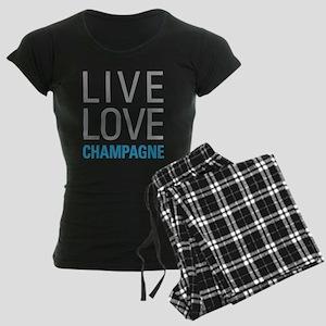 Champagne Women's Dark Pajamas
