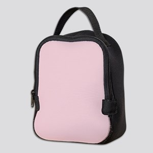 cute blush pink Neoprene Lunch Bag