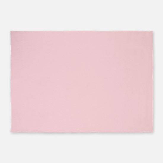 cute blush pink 5'x7'Area Rug