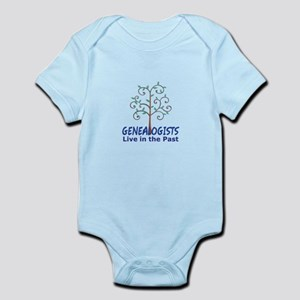 GENEALOGISTS LIVE IN THE PAST Body Suit