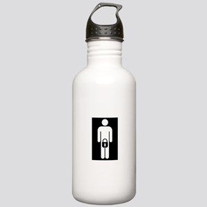 Caged Cuckold Stainless Water Bottle 1.0L