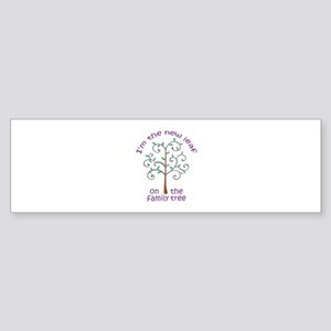 NEW LEAF ON FAMILY TREE Bumper Sticker