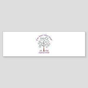 NEW LEAF ON FAMILY TREE Bumper Sticker