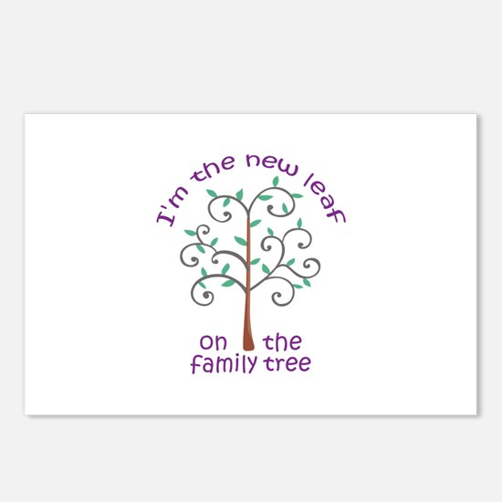 NEW LEAF ON FAMILY TREE Postcards (Package of 8)