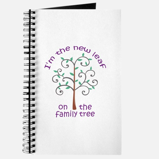 NEW LEAF ON FAMILY TREE Journal
