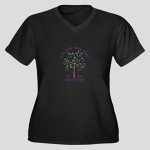 NEW LEAF ON FAMILY TREE Plus Size T-Shirt