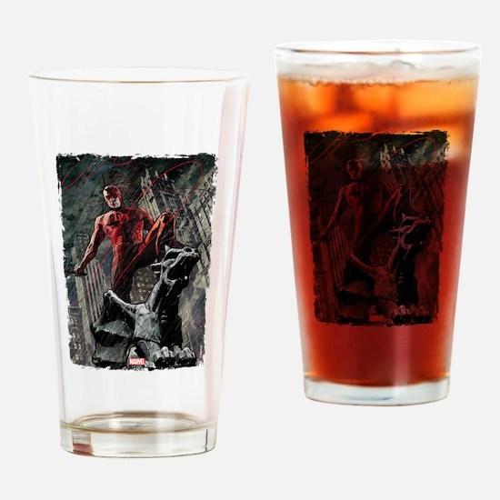 Daredevil Gargoyle Drinking Glass
