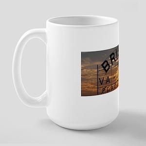 Bristol Sign at Sunset Large Mug