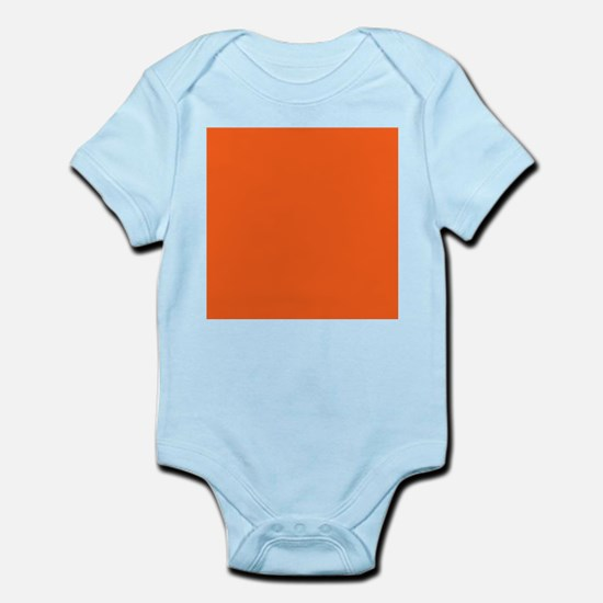 modern plain orange Body Suit