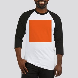 modern plain orange Baseball Jersey