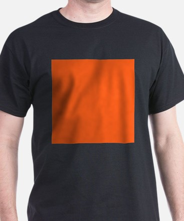 modern plain orange T-Shirt