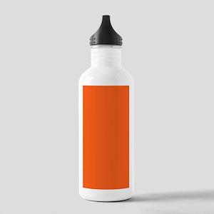 modern plain orange Stainless Water Bottle 1.0L