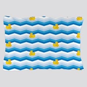 Duck Duck Duck Pattern Pillow Case