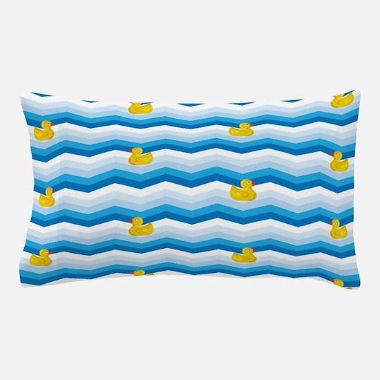 Duck Duck Duck Pattern Pillow Case