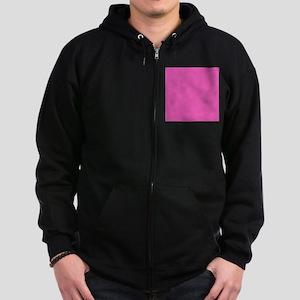 girly fuschia pink Zip Hoodie (dark)