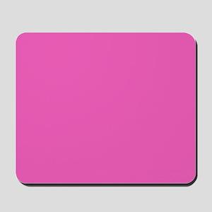 girly fuschia pink Mousepad