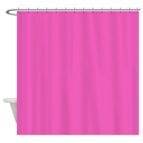 Girly Fuschia Pink Shower Curtain By ADMIN CP62325139