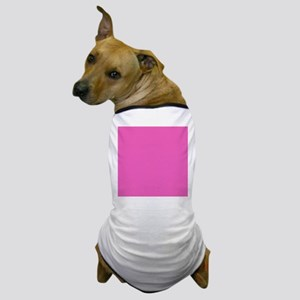 girly fuschia pink Dog T-Shirt