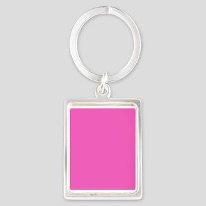 girly fuschia pink Keychains