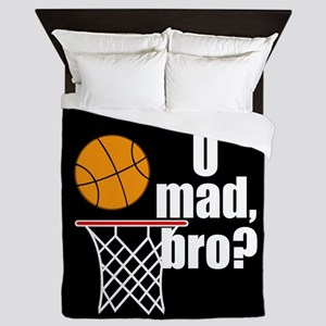 U Mad Bro? Queen Duvet