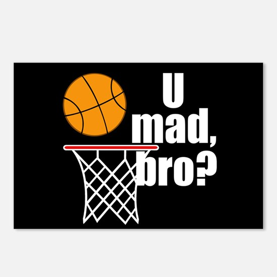 U Mad Bro? Postcards (Package of 8)