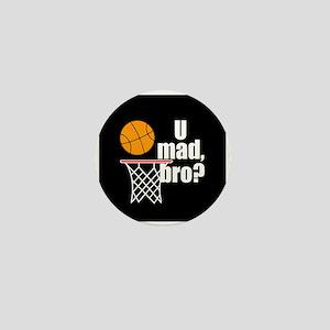 U Mad Bro? Mini Button