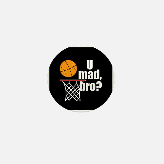 U Mad Bro? Mini Button