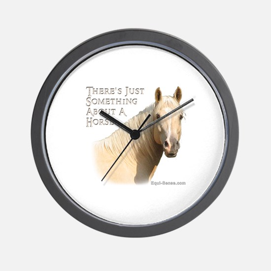 Something About A Horse Wall Clock