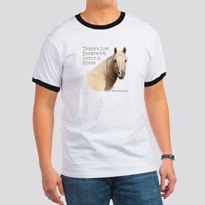 Something About A Horse Ringer T