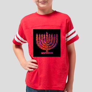 Pink Black Menorah Hannah's Fave T-Shirt