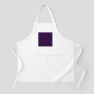 modern eggplant purple Apron