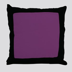 modern preppy purple Throw Pillow