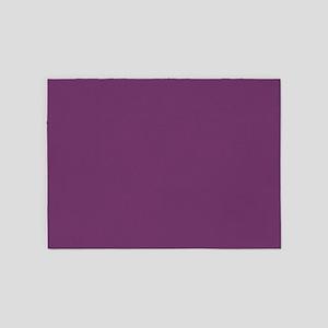 modern preppy purple 5'x7'Area Rug