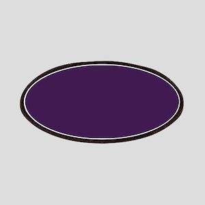 modern eggplant purple Patches