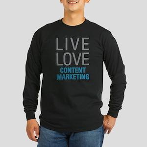 Content Marketing Long Sleeve T-Shirt