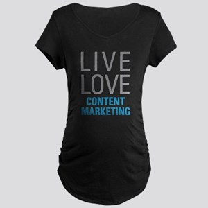 Content Marketing Maternity T-Shirt