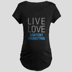 Content Marketing Maternity T-Shirt