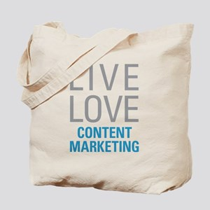 Content Marketing Tote Bag