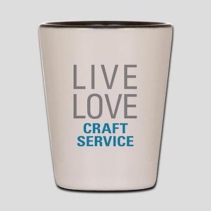 Craft Service Shot Glass