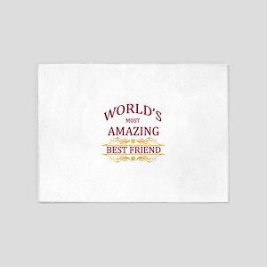 Best Friend 5'x7'Area Rug