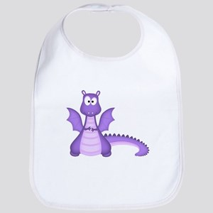 Purple Dragon Bib